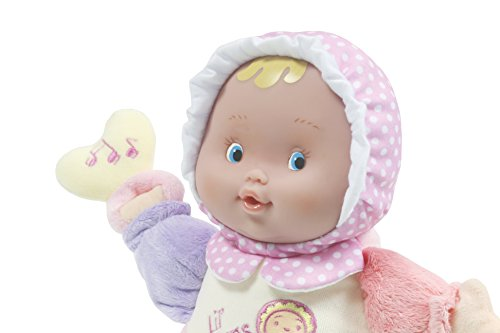 JC Toys Lil' Hugs Pink Soft Body - Your First Baby Doll – Designed by Berenguer – Ages 0+