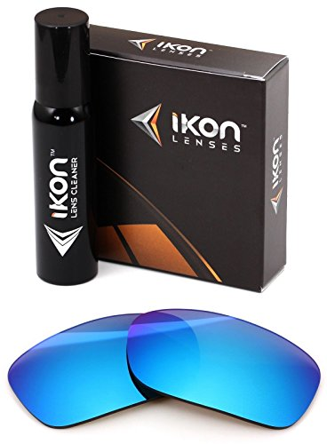 Polarized Ikon Iridium Replacement Lenses For Oakley Fives Squared Sunglasses - Ice - Oakley Squared 5 Lenses
