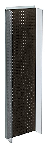 New Retails Black Plastic Pegboard Powerwing Display 14''w x 44''high by Pegboard Powerwing Display