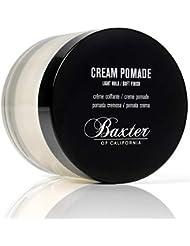 Baxter of California Cream Pomade for Men   Natural Finish   Light Hold   Hair Pomade   2 fl. oz.