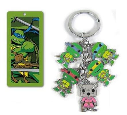 in 1 Metal Charm Keychain ()