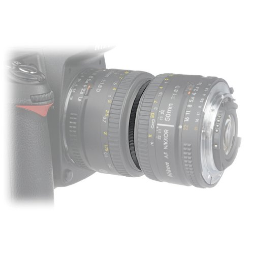 JJC Reverse Adaptor Macro Couplers 67mm to 77mm [JU6777R] - Lens Coupler