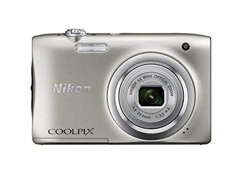 Nikon Coolpix A100 20MP Digital Camera (Purple) International Model No Warranty