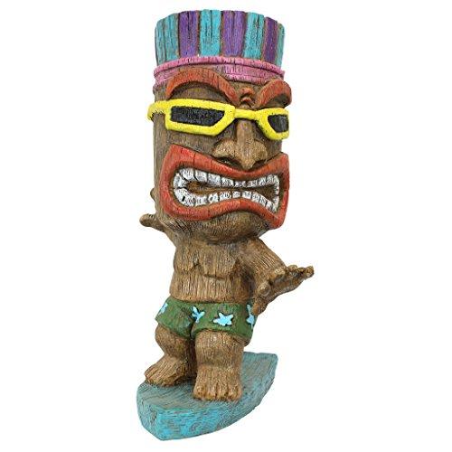 Cheap  Design Toscano Kahuna Tiki Surfer Dude Statue, Full Color