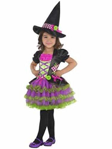 Goodmark Toddler Girls Stitch Witch Halloween Costume Bruja, -