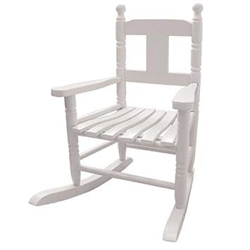 white wooden rocking chair. Childrens White Wooden Rocking Chair O