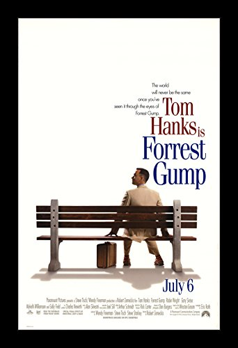 Forrest Gump - 11x17 Framed Movie Poster by Wallspace