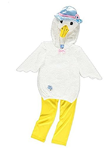 George Peter Rabbit Jemima Puddle-Duck Girls Fancy Dress Costume Outfit (3-4 Years) -