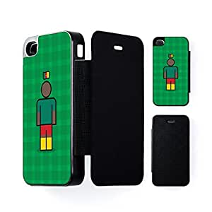 Cameroon Black Flip Case for Apple? iPhone 4 / 4s by Blunt Football International + FREE Crystal Clear Screen Protector