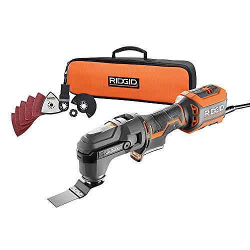 Ridgid R28602 JobMax 4 Amp Multi-Tool Kit ZRR28602 (Renewed)