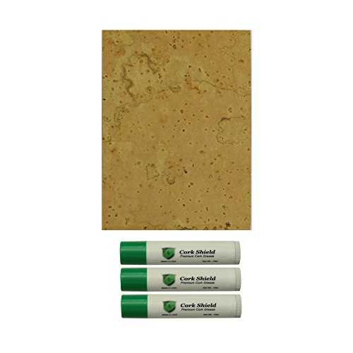 Cork Cement - Instrument Clinic Premium Natural Sheet Cork 1/16