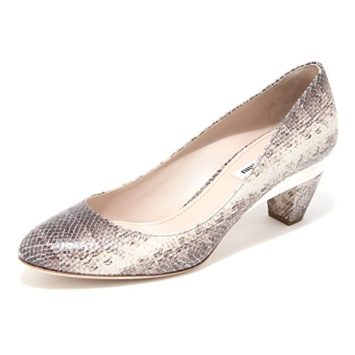 grigio Marrone Women Vit 86287 Decollete Shoes Miu Scarpa Donna a4zvR8
