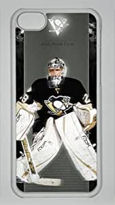 Marc-Andre Fleury Pittsburgh Penguins #29 NHL Custom PC Transparent Case for iPhone 5C