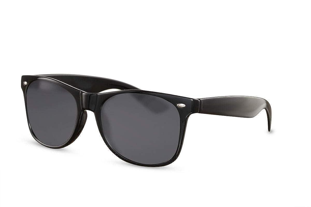 Cheapass Occhiali da Sole Neri UV400 Maschi Ragazzi Bambini