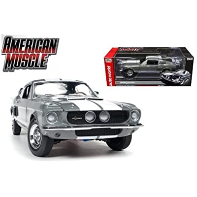 AUTO WORLD 1:18 AMERICAN MUSCLE - 1967 SHELBY GT-350 50TH ANNIVERSARY AMM1060: Toys & Games