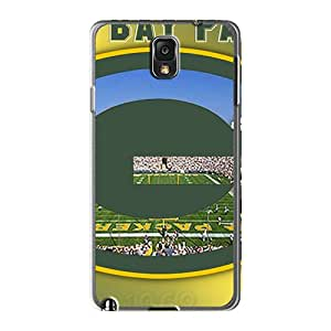 Protector Hard Cell-phone Case For Samsung Galaxy Note 3 With Provide Private Custom High Resolution Green Bay Packers Pattern Aimeilimobile99