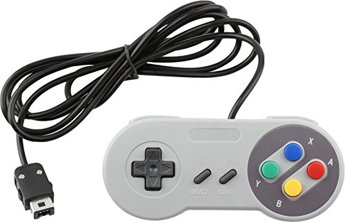 Wired Controller for Super Nintendo SNES Classic Mini Edition Console Color