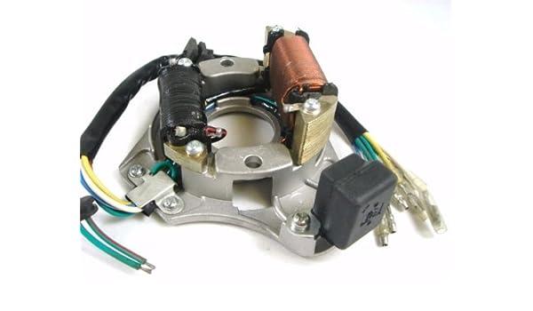 STATOR IGNITION MAGNETO PLATE ATV QUAD 110CC 125CC IS02, Ignition