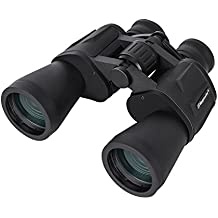Skygenius 10 x 50 Powerful Full-size Binoculars For Adults, Durable Clear Binoculars For Bird Watching Sightseeing Hunting Wildlife Watching Sporting Events, W/Carrying Case Strap Lens Cap(1.76 Pound)