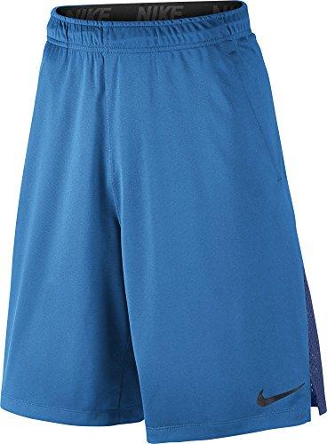Nike Hyperspeed Knit Short Sz M Fitness/Workout Lt Photo Blue/Deep Royal Blue/Black