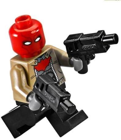 LEGO DC Comics Super Heroes Minifigure - Red Hood with Dual Pistols (76055)