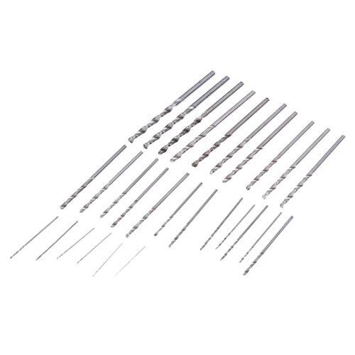 - Drill Bits - 28pcs Mini Micro Hss Twist Drill Bits Set Metric Sizes 0.3 3.0mm Thin Aluminum Iron Sheet Plastic - Tool Release Norseman Drivers Diamond Quick Rapid File Point Than Klein Drywal