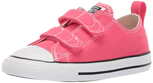 - Converse Baby Infant Chuck Taylor All Star 2V Seasonal 2019 Low Top Sneaker, Strawberry Jam, 9 M US Toddler