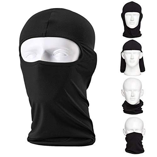 L&M Balaclava (2 Pack) Ski Mask, Motorcycle Premium Face Mask Ninja Mask ()