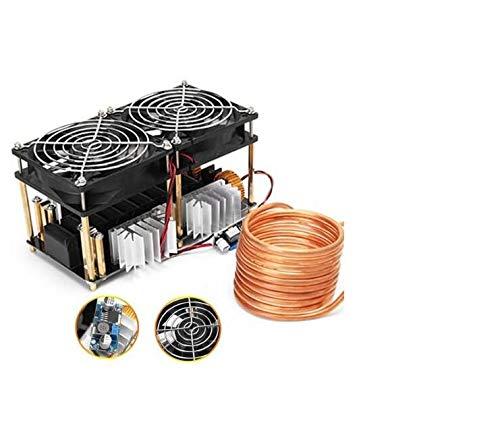 Bobina Bomba Crisol Facibom 2500W ZVS Calentador de Inducci/óN Calentamiento por Inducci/óN de Alta Frecuencia Placa PCB Metal Fundido