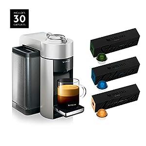 Nespresso ENV135S Vertuo Evoluo Coffee and Espresso Machine by De'Longhi, Silver with Nespresso Vertuoline Coffee, Best… 12
