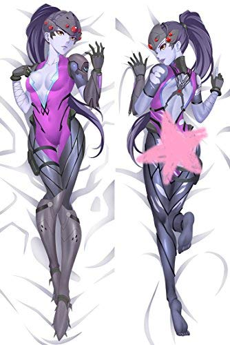 Funky Store Overwatch Widowmaker Peach Skin 150cm x 50cm (59 inch x 19.6 inch) Body Pillowcase, Pillow Cover (Widowmaker) Hug Pillow