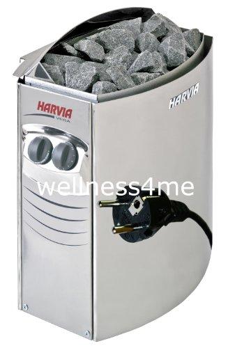 Saunaofen Plug und Play 3,5 kW Harvia inkl. Steine Well Solutions