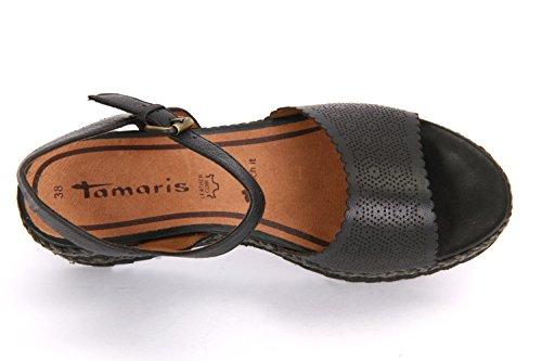 Tamaris 1-1-28370-28/001, Sandales pour femme Noir