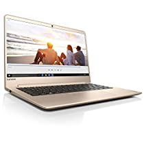 "Lenovo Ideapad 710S Plus-13IKB Portatile con Display da 13.3"" Full HD IPS, Processore Intel Core I5-7200U, 4 GB di RAM, 256 GB Pcie SSD, Scheda Grafica Nvidia Geforce 940M, Windows 10 Home, Oro"