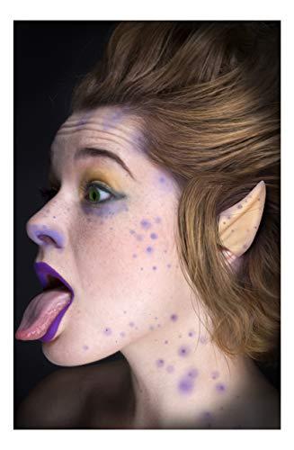 Faux Studio Flesh Alien Ears Latex Prosthetic Appliance. ()
