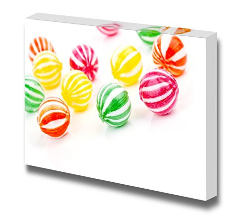 Colored Round Candies Sweets Wall Decor