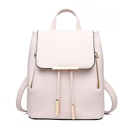 Huabor Fashion Shoulder Bag Rucksack PU Leather Women Ladies Backpack Travel backpack purse