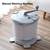 PLHMS Mini Hand Crank Washing Machine
