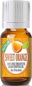 Sweet Orange - 100% Pure, Best Therapeutic Grade Essential Oil - 10ml