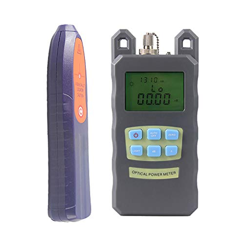 SM SunniMix A Set -70dBm~+10dBm 850~1625nm Optical Power Meter Tester FC SC Handheld Optical Power Meter + 10mW Visual Fault Locator Pen by SM SunniMix (Image #10)