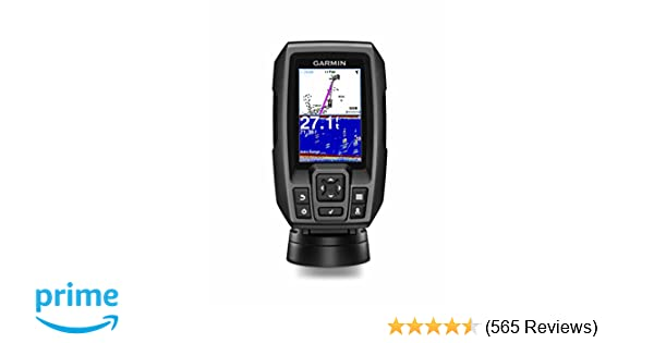 amazon com garmin striker 4 with transducer 3 5 gps fishfinder