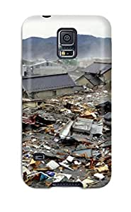Barbara Anthony Premium Protective Hard Case For Galaxy S5- Nice Design - Japan Tsunami - Earthquake March 2011 by runtopwell