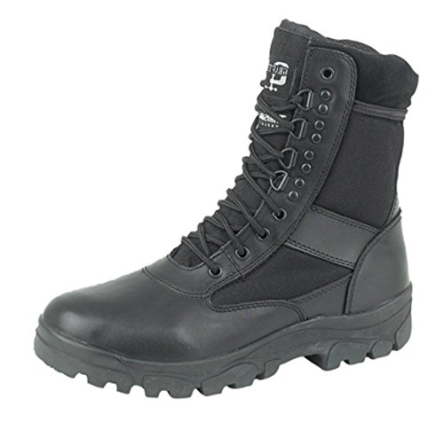 Mens Grafters Military Combat Police Cadet Steel Sole Hi-Leg Boots Sizes 6 to 13