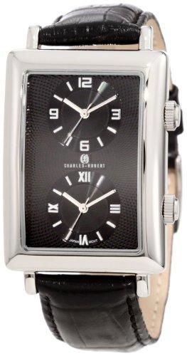 - Charles-Hubert, Paris Men's 3854-B Premium Collection Stainless Steel Dual-Time Watch