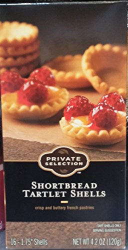 Private Selection Shortbread Tartlet Shells 4.2 oz (Pack of 2)