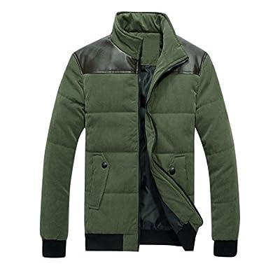 Blackobe Men Stylish Winter Warm Sweatshirt Zipper Coat Jacket Outwear Sweater