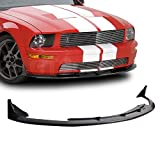 GT-Speed made for 2005-2009 Ford Mustang V8 Only CV3 Style Front PU Bumper Lip