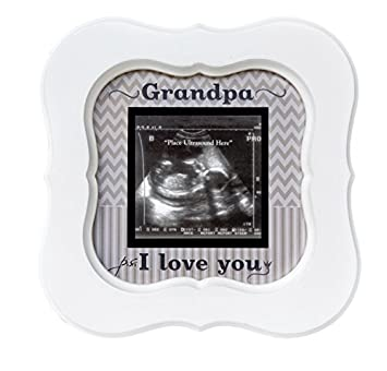 Amazoncom Grandpa Ultrasound Sonogram Frame Ps I Love You Baby