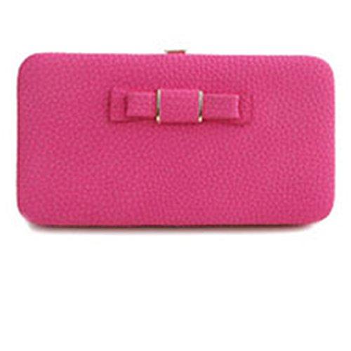 Main Femmes Bourse iPhone Portefeuille pour 6 Aux Sac A01 Portable 6s Cuir Luxe Rose à Téléphone Couche Multi vOqBqdRIn