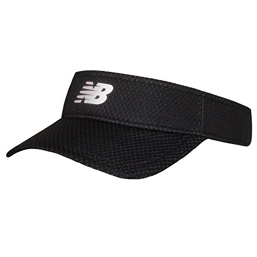 New Balance Adult Performance Sport Visor Headwear, Black, One Size ()